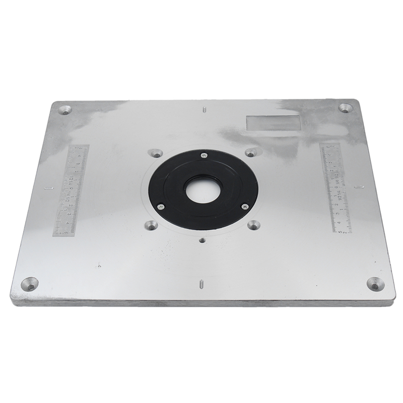 Aluminum router table insert plate for popular router trimmers aluminum router table insert plate for popular router trimmers models engrving machine diy woodworking benches in wood routers from tools on aliexpress keyboard keysfo Gallery
