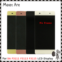DHL 10PCS High Quality 5.0'' For Sony Xperia XA F3111 F3113 F3115 LCD Display Screen With Touch Screen Digitizer Assembly