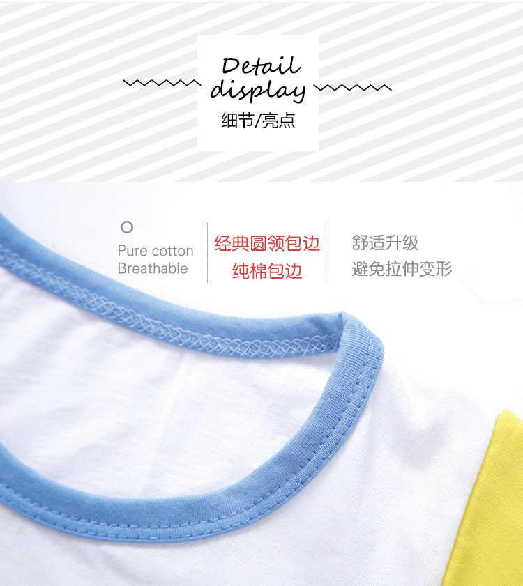 2019 new summer baby girl clothes set fashion 100% cotton children's sets body suit kids shorts sleeve cartoon boy clothes set