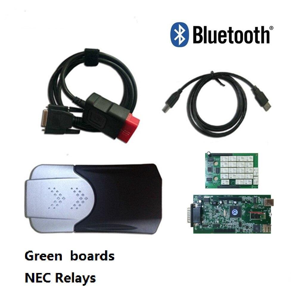 Цена за 2015 R3 с Keygen CDP PRO сканер с Bluetooth OBD2 OBD 2 OBDII для автомобиля и грузовик профессиональный инструмент диагностики инструменты