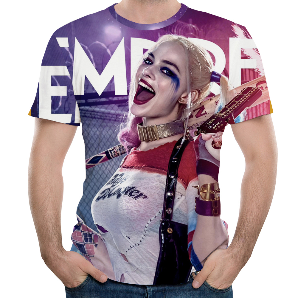 3D Mens Compressed T-Shirt Printing Women Assassin Squad Summer Casual Shirt Fashion Happy Girls Cozy Tops Free Shipping s-xxxl