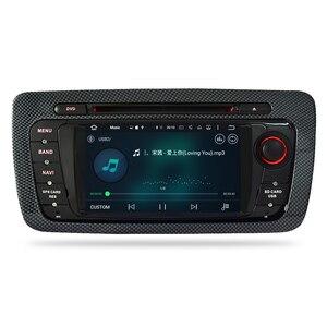 """Image 4 - 7 """"HD أندرويد 10.0 مشغل أسطوانات للسيارة لمقعد إيبيزا 2009 2010 2011 2012 راديو تلقائي FM RDS ستيريو واي فاي لتحديد المواقع والملاحة الصوت والفيديو سماعة الرأس"""