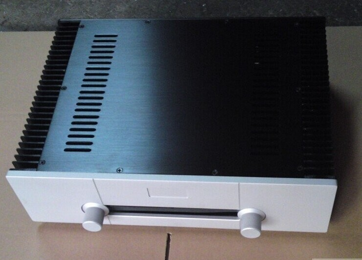 case 430*120*313mm All aluminum amplifier chassis / Class A amplifier / merge AMP case / AMP Enclosure /AMP case / DIY box