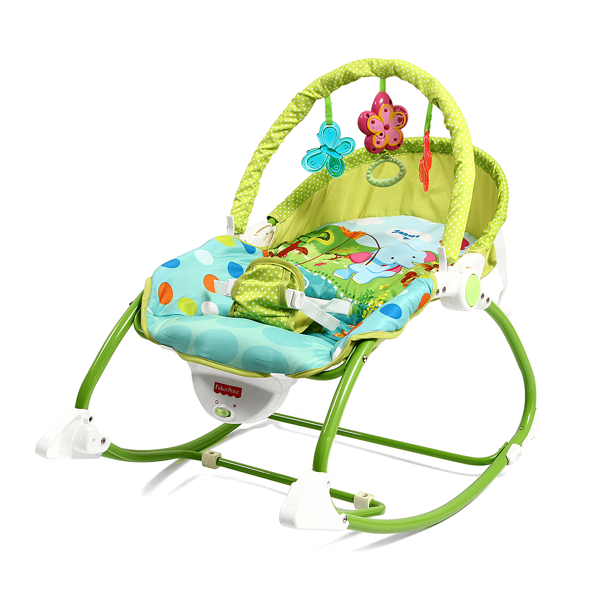 7b5b08f53e1 FISHER PRICE Baby Bouncer Rocking Chair With Music Vibration - FYLO