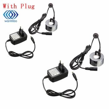 2Pcs With EU Plug Or No Plug 45mm Humidifier Ultrasonic Mist Maker Industrial Incubator  24V Nebulizer Atomizer Head Fogger