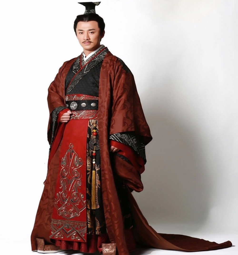 High End Quality Ancient China Prince Emperor Costume Outfit  New TV Play Film Garments Hanfu Embroidered Dragon' Party Cosplay