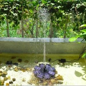 Image 4 - צף שמש כוח משאבת מים משאבת מזרקת שמש לגן בריכה טבולה השקיה אוטומטי בריכת מזרקות ערכת פנל