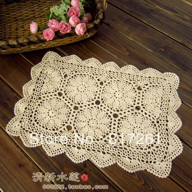 Sofa Table Runners New Style Of 2015 Arrival Beige Crochet Lace Cutout Tablecloth Cover For Wedding Decoration Runner Overlay