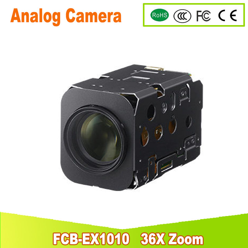 цены yunsye Free shipping SONY FCB-EX1010P 36x Zoom sony camera module 36x Zoom Camera high resolution mini camera/small PTZ