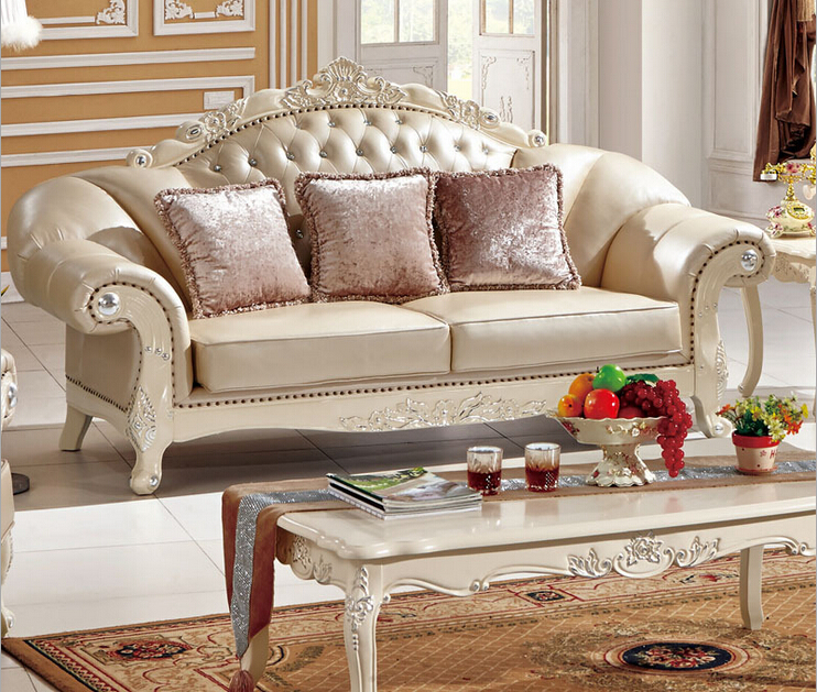 Aliexpress.com : Buy Italian Leather Wooden Carved Sofa Set Designs A325  From Reliable Carved Sofa Set Suppliers On China Building Materials Mart