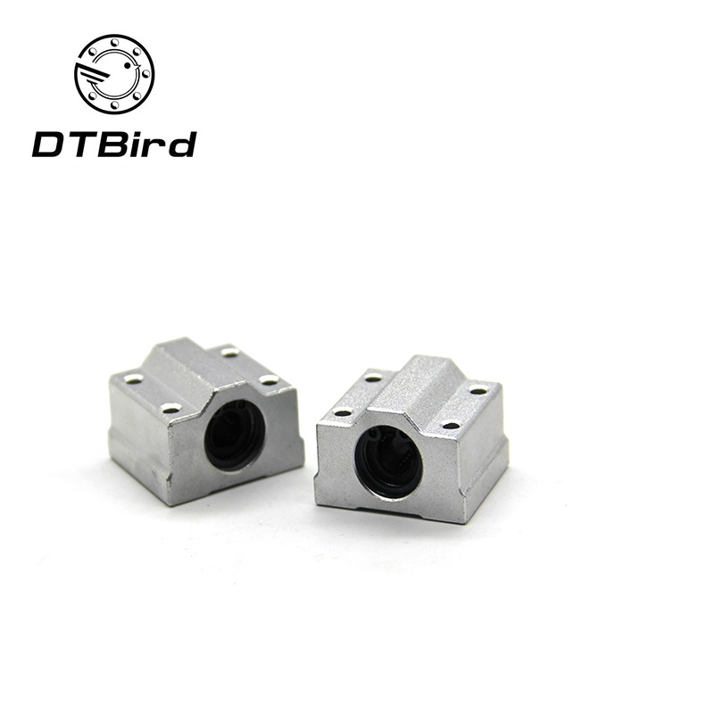 1pc SC8UU SCS8LUU 8mm Linear Ball Bearing Block CNC Router SC6UU SC10UU SC12UU SC13UU For CNC 3D Printer Shafts Rod Parts