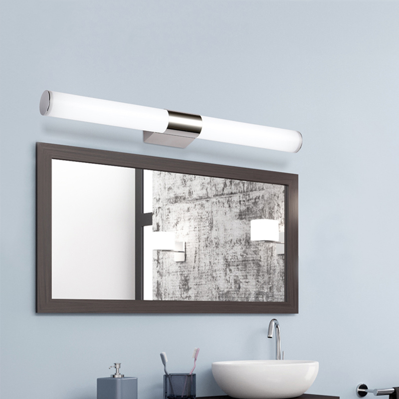 80cm acryl bathroom over mirror light 110v 230v 16w led vanity 80cm acryl bathroom over mirror light 110v 230v 16w led vanity sconce lamps warm cool white in led indoor wall lamps from lights lighting on mozeypictures Gallery