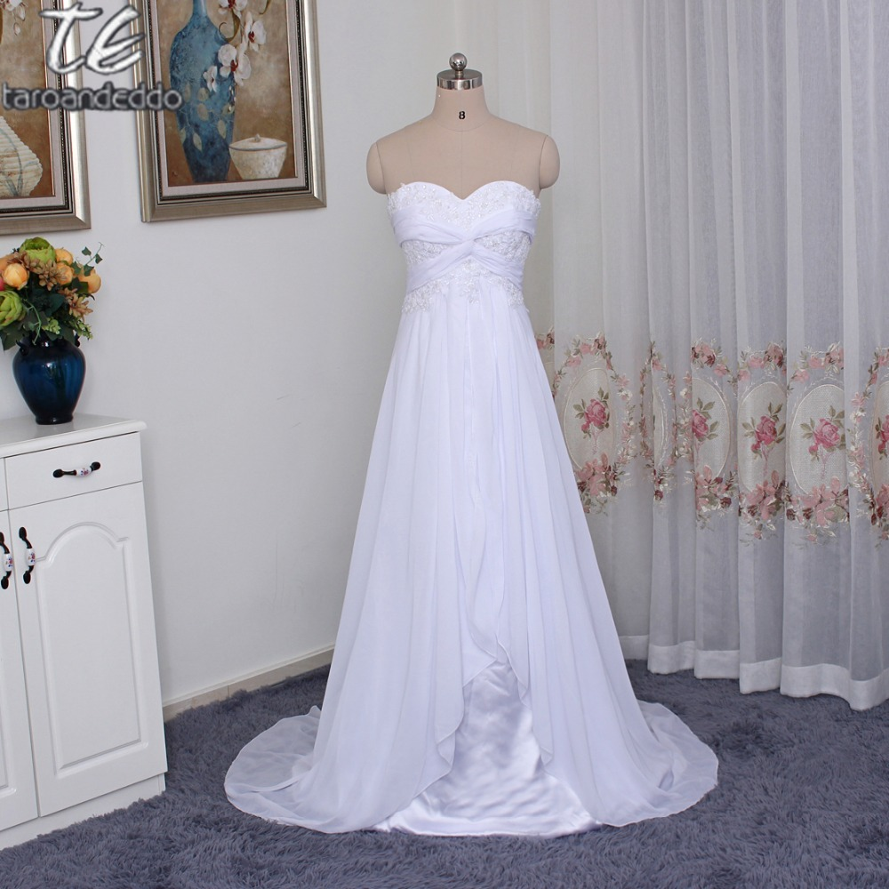 Cheap Wedding Dresses Size 6: Only Standard Size Cheap Price Strapless Crisscross Ruched