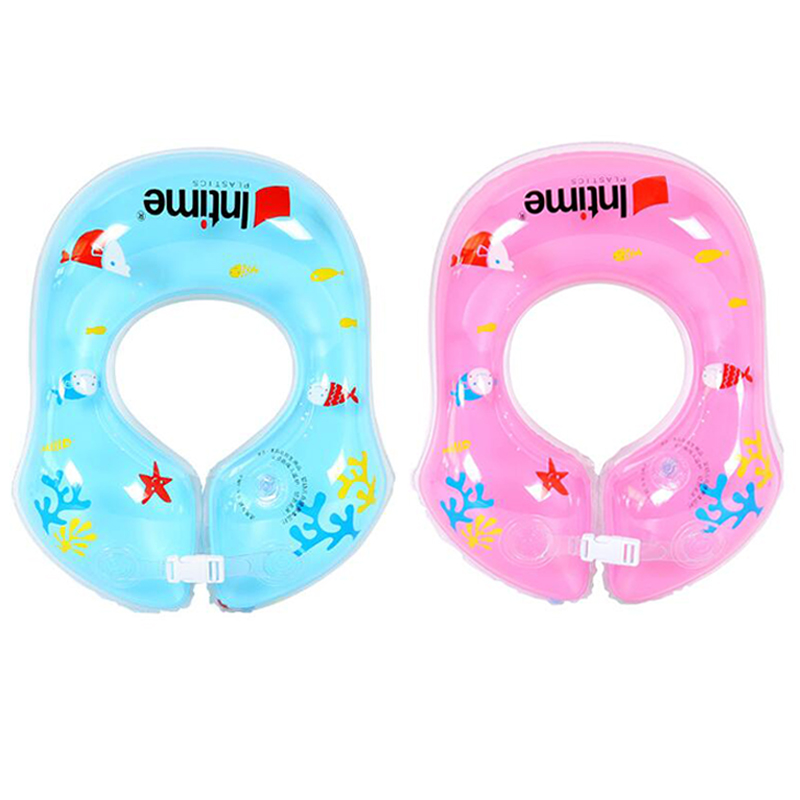For Kids 6 Months To 2 Years Old Baby Swim Ring Floating Ring Infant Inflatable Armpit Ring
