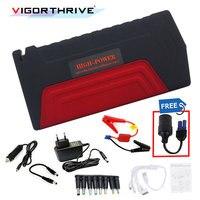 다기능 2 USB 포트 전원 은행 자동 자동차 점프 스타터 비상 배터리 충전기 부스터 노트북 휴대 전화