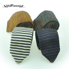 CHCUM Silk Knitted Neck Tie Classical Business Ties For Men 2017 Dress Collocation For Wedding Party Tie Brand