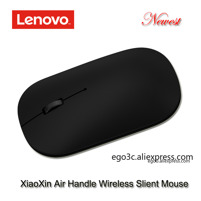 Image 2 - Newest lenovo xiaoxin air handle Wireless Mouse 4000dpi 2.4GHz Optical Portable silent Mouse 10m working distance for notebook-in Mice from Computer & Office