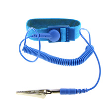 все цены на Anti Static ESD Wristband Wrist Strap Discharge Cables with Clip For Sensitive Electronics Repair Work Tools онлайн