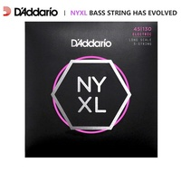 D'addario NYXL Nikkel Wond Basgitaar Snaren, lange Schaal, NYXL4095 NYXL45100 NYXL45105 NYXL50105 NYXL45130 (5-Strings Bass)
