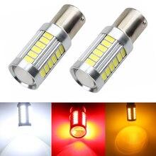 цена на Post Free 10 x 1157 BAY15D 5730 33-SMD White 900 Lumens 8000K Super Bright LED Turn Tail Brake Stop Signal Light Lamp Bulb 12V