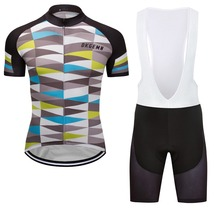 New Men's Short Sleeve Cycling Jerseys Bike Racing Team Tops Uniforms Cycle Jersey Bicycle Shirt Long Zip Race Fits Clothing