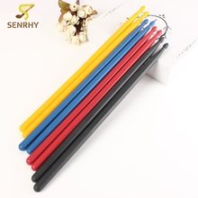 1 Pair 5A Durable Drumsticks Nylon Lightweight Drum Sticks with anti-slip Grip For Drum Musical Instruments Accessories 4 Colors