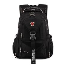 Qualität Schweizer Rucksack Große 14-17 zoll laptop mann frau rot klassische tasche student rucksack reise daypack fashion wasserdicht + geschenk