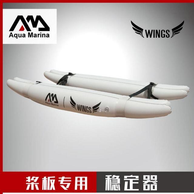 Aqua Marina Dayung Papan surfing Stabilizer cocok Pemula Penolong surfer tiup papan selancar sayap baru jenis Baru