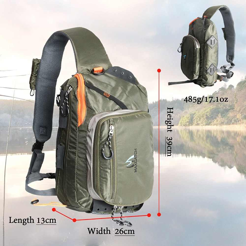 Maximumcatch всплеск водонепроницаемый Fly Рыболовная петля сумка многоцелевой наплечный рыболовный рюкзак