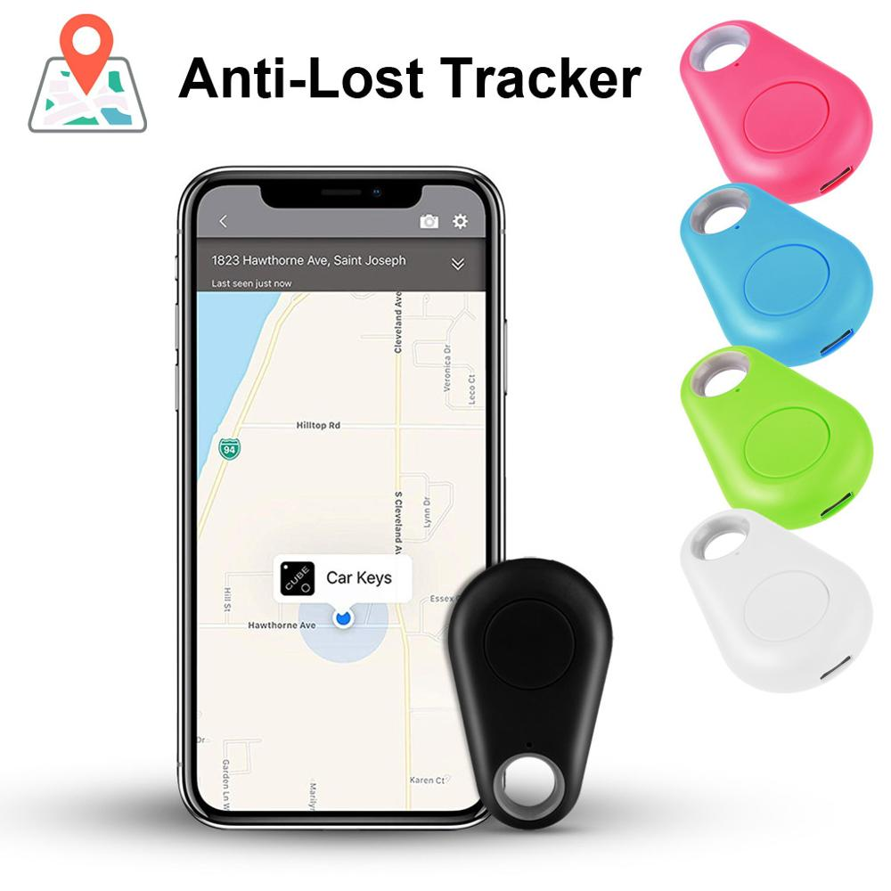 Portable Personal GPS Rechargeable Anti Lost Theft Device Alarm Tracker Alarm Locator Bluetooth Remote Realtime Finder Q70