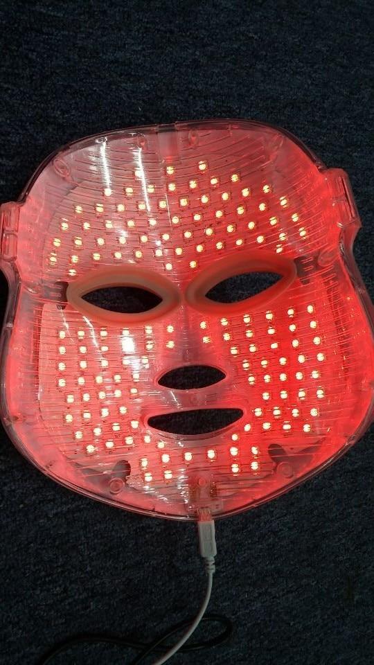 7 色光子 PDT led スキンケアフェイシャルマスク青緑赤光療法美容デバイス卸売価格美容アクセサリー  グループ上の 美容 & 健康 からの 顔スキンケアツール の中 3