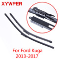 XYWPER стеклоочистителей для Ford Kuga 2013 2014 2015 2016 2017 автомобильные аксессуары мягкие резиновые стеклоочистители