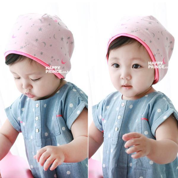 2017 korean baby kid girl boy child cute moon stars beanie cap 2017 korean baby kid girl boy child cute moon stars beanie cap infant cotton soft hat in hats caps from mother kids on aliexpress alibaba group voltagebd Gallery