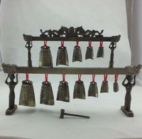 Antique Crafts Decoration Double Layer Music Chime Bronze Device Decoration Musical Instrument