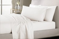 100 Egyptian Cotton 80 S 600 TC Bedding Set Brazil Queen Size 1 5 M Ivory