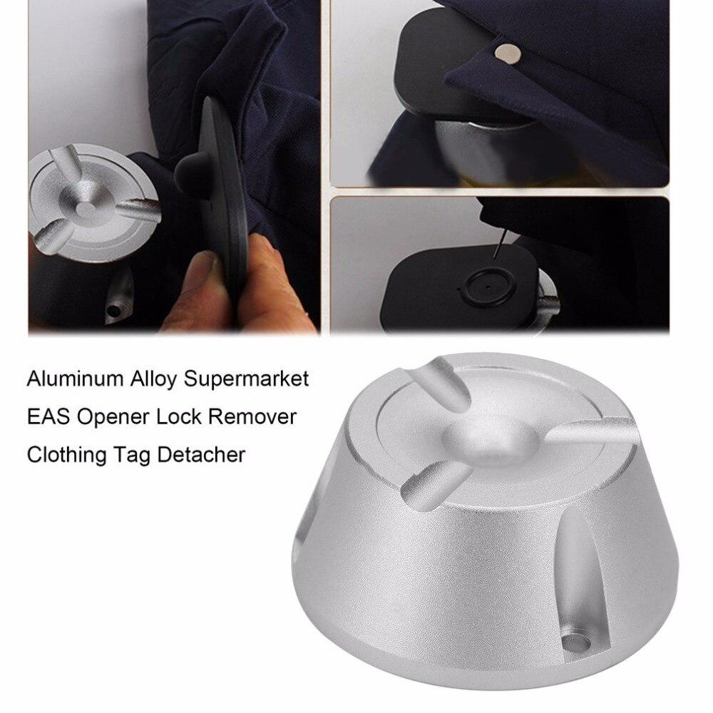 Multifuncional Supermercado EAS Ímã Abridor De Bloqueio Removedor de Golfe/Lápis/Vestuário de Segurança Tag Desacoplador 15000GS Da Liga de Alumínio