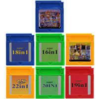 Video Spiel Patrone 16 Bit Spielkonsole Karte Alle In 1 Zusammenstellungen Super Combo Multi Warenkorb