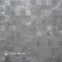 Darmowa wysyłka pure white 100% naturalne Chiński słodkowodna shell masa perłowa mozaika do dekoracji łazienki płytki ścienne