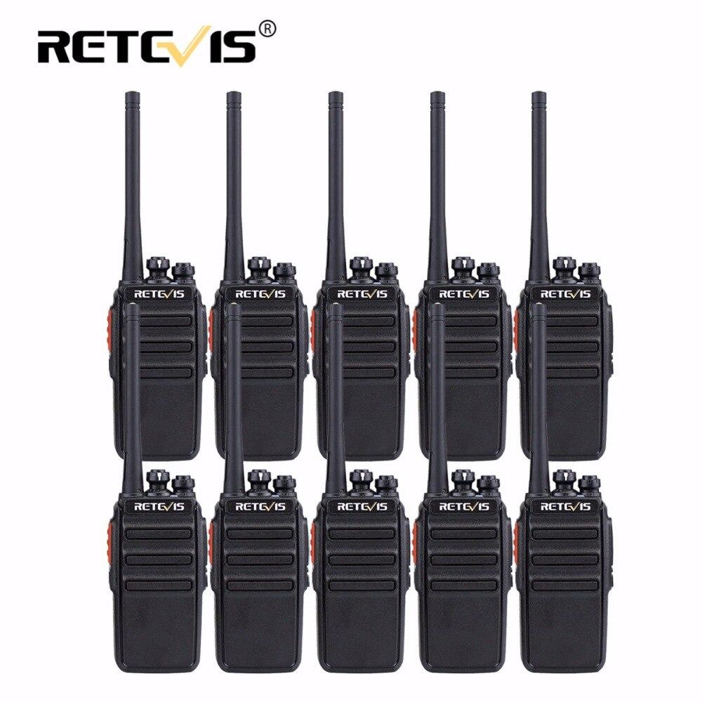 10 pcs Retevis RT24 PMR Talkie Walkie PMR446 Radio 0.5 w 16CH UHF 446 mhz Hf Transceiver Scrambler VOX Hôtel /Restaurant/Chasse