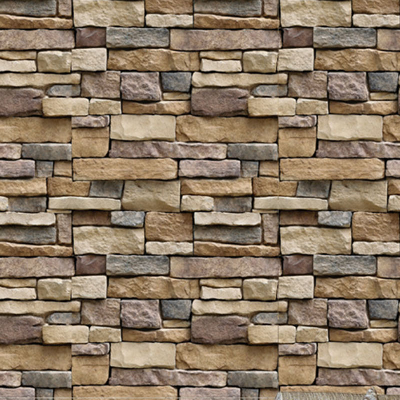 45*100cm PVC Self Adhesive Wallpaper Brick Stone 3D Wall Paper Stickers Kitchen Bedroom Living Room TV Background Wallpaper