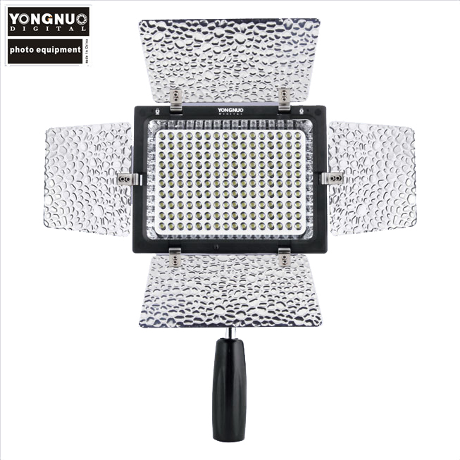 YONGNUO YN-160 II YN160 II LED Light for Cameras Camcorders LED Video Light Lamp for Canon 650D 5D Mark II 6D 7D 60D 600D 550D jjc 3 in 1 stacking grid light modifier system for canon yongnuo black