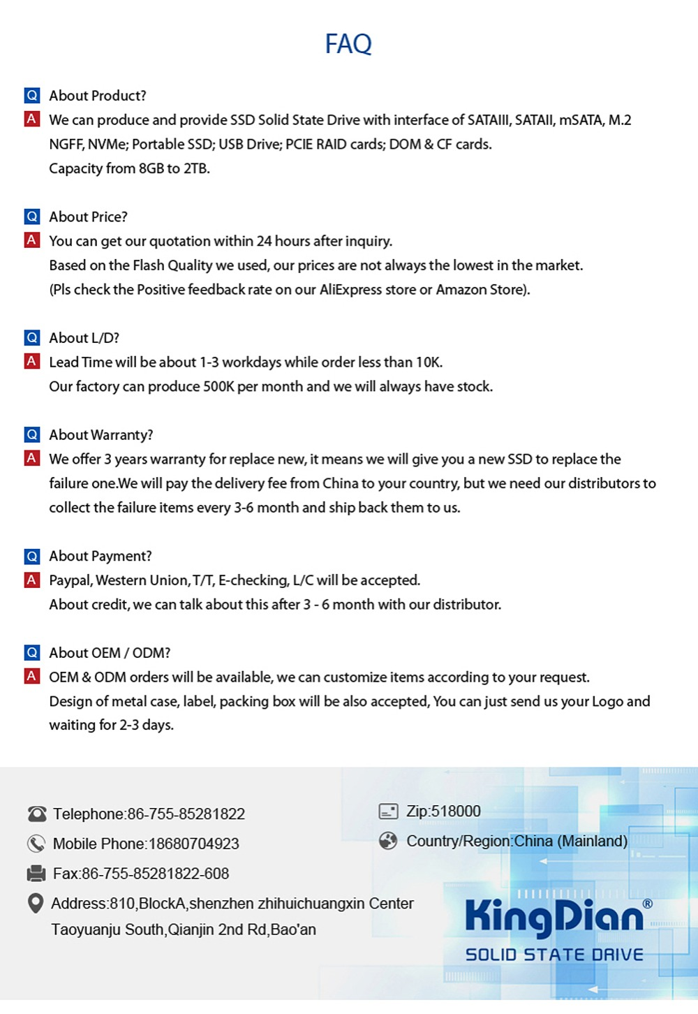 (S100+16GB) KingDian SSD 16G hard drive disk 1 8 SATA2 for KKPOS Thin Clint  laptop SSD 16GB