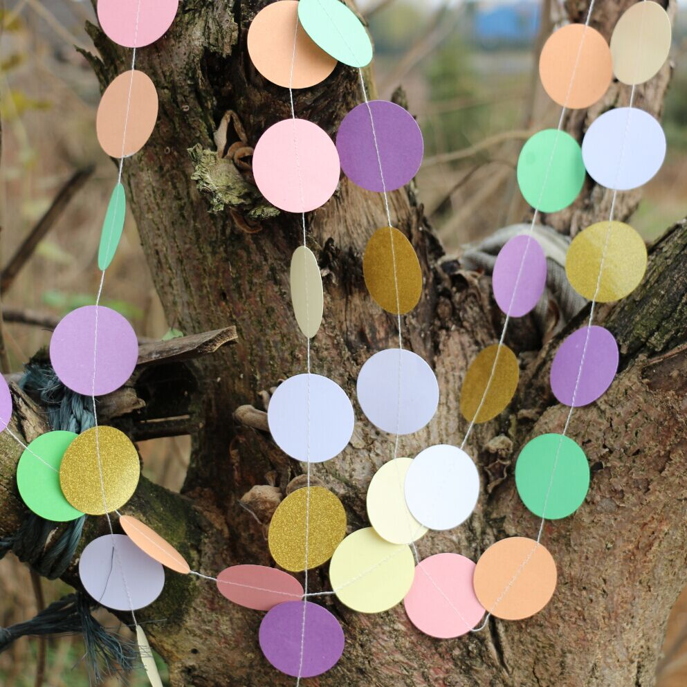 Gold color cardstock paper - 5pcs Pastel With Gold Glitter Paper Decor Pink Purple Backdrop Purple Gold Wedding Garland