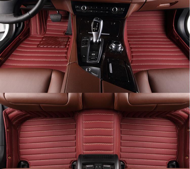 Best & Free shipping! Custom special floor mats for Toyota Highlander 5 seats 2018-2015 waterproof carpets for Highlander 2016