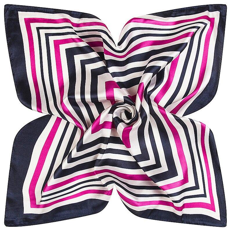 2017 Square silk   scarf   60cm * 60cm new name Geometry of the edge hijab ladies   scarves     wraps