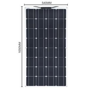 Image 4 - XINPUGUANG 100W 18V or 16V flexible solar panel cell 100 watt module Monocrystalline sunpower painel solar 12V battery charger