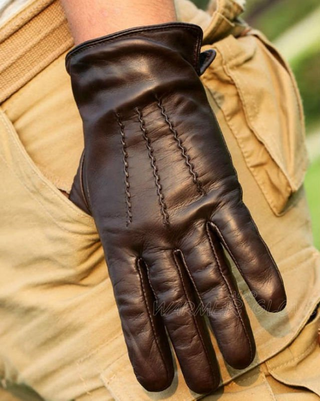 8481dfc6bbc5a 2012 LEATTHER GLOVES FOR MEN GLOVES WINTER MOTORCYCLE GLOVES DRIVING GLOVES