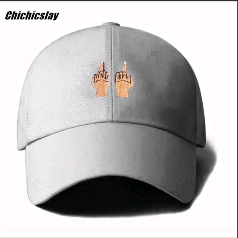 HTB1ZrdgSpXXXXXZaXXXq6xXFXXXL - Middle Finger Strap Baseball Hat Snapback Caps