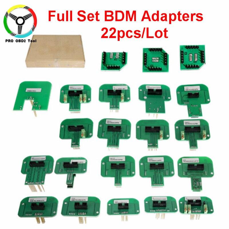 Здесь продается  New Arrival Full Set 22pcs BDM Adapters For KTAG KESS FGTECH BDM100 BDM Probe Adapters LED BDM Frame ECU RAMP Chip Tuning Tool  Автомобили и Мотоциклы
