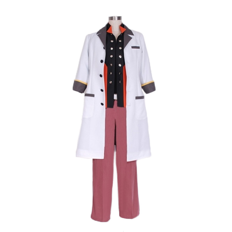 Tales of Xillia Teiruzu Obu Ekushiria Jude Mathis Uniform Cosplay Costume